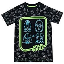 Camiseta Star Wars brilla en la oscuridad
