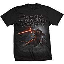 camiseta star wars episodio VII