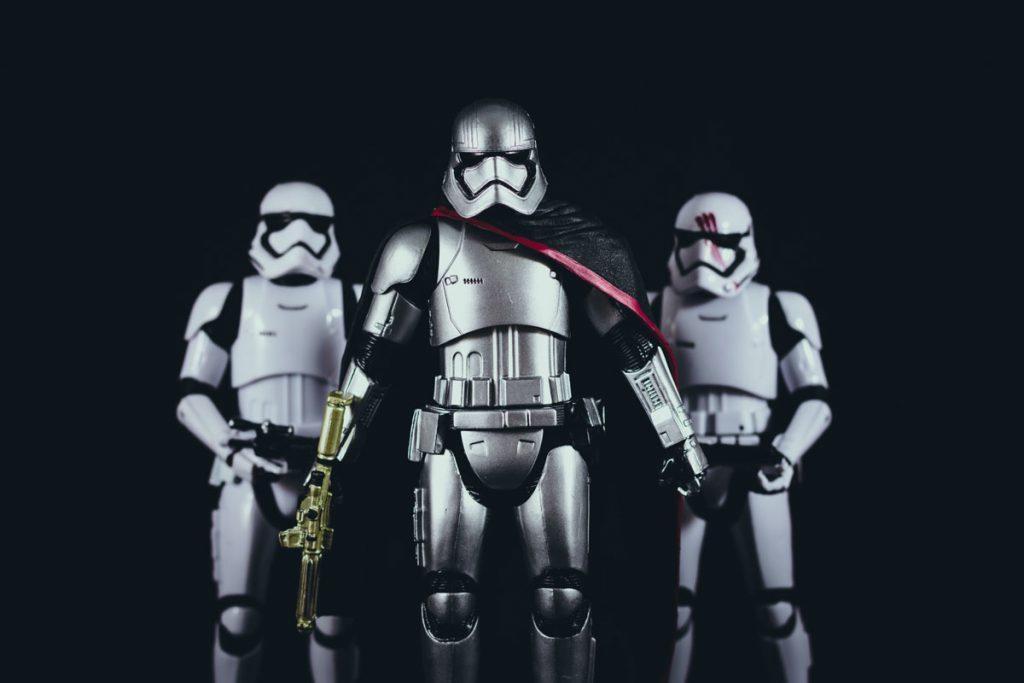 figuras de Stormtroopers