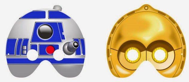 máscaras de Star Wars para imprimir
