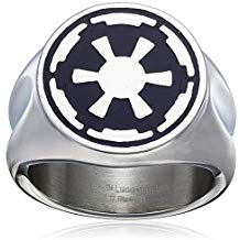anillo Star Wars imperial